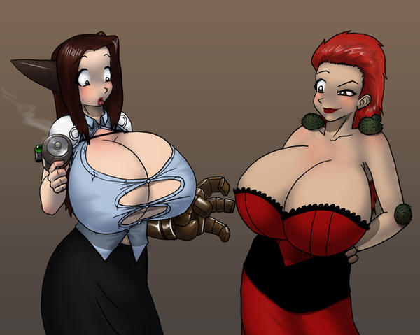 Boob Cloning in Color by Brunicus