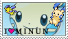 I Heart Minun by YogurtPockets