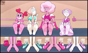 Steven Universe Girls Feet