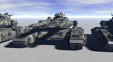 Heavy tank. by ex-pacifist