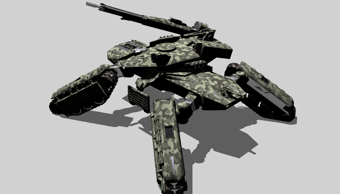Rufetic Federation Armed Forces Mjollnir_fire_support_tank__by_ex_pacifist