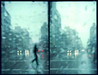 New York in the Rain by webgod1