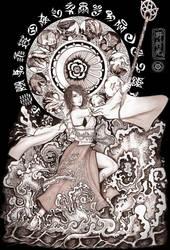 FFX Summoner Yuna by Hikaru-Ryuuen