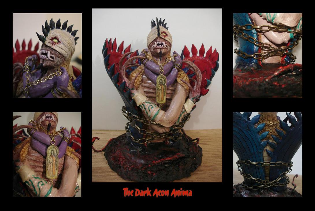 FFX Sculpture: The Dark Aeon by Hikaru-Ryuuen