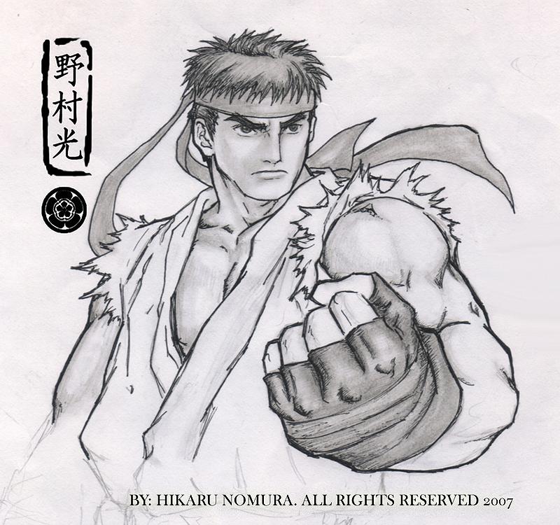 Ryu By Hikaru Ryuuen On Deviantart