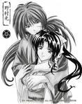 Kenshin and Kaoru by Hikaru-Ryuuen