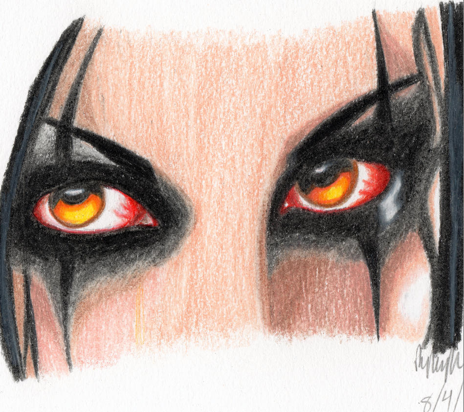 Chris Motionless by Rybarsicle