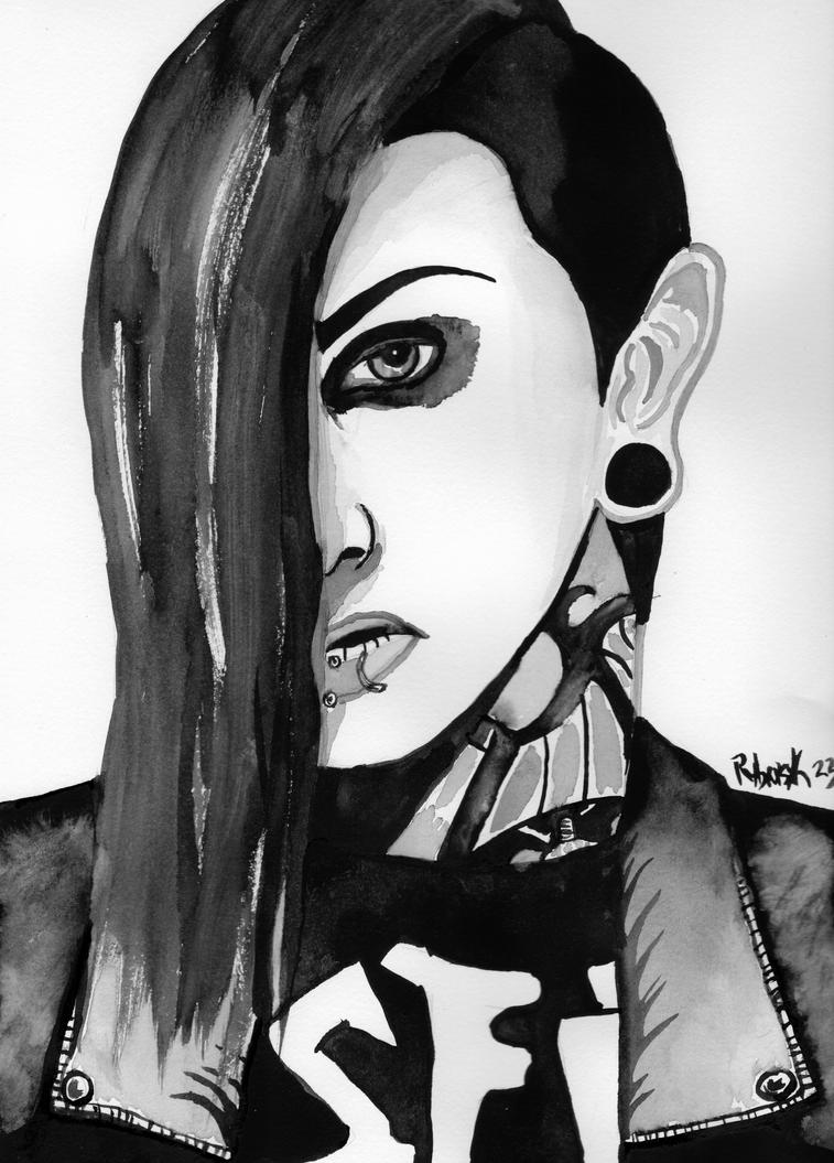 Chris Motionless II by Rybarsicle