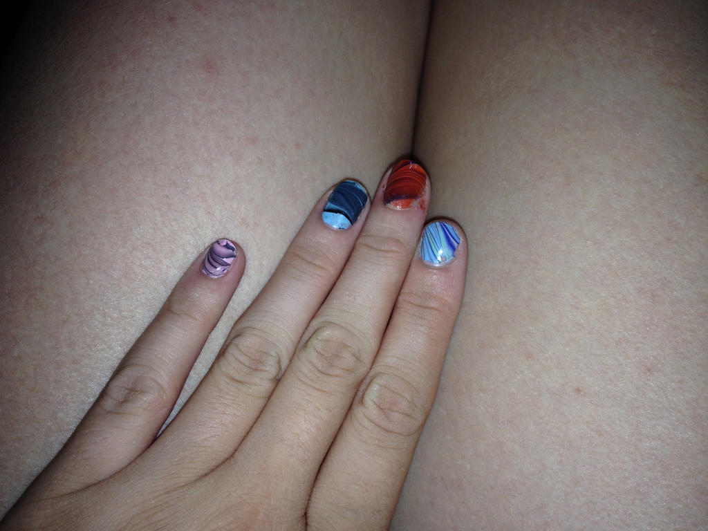 Look at my nails not my legs plz by lovelyangel846 on DeviantArt