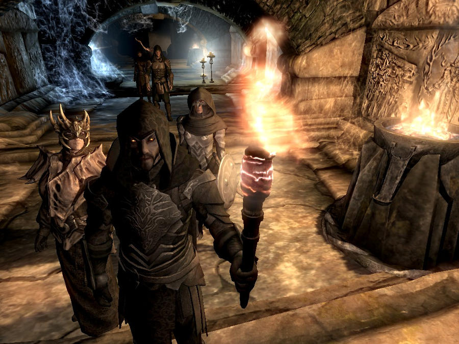 Skyrim - Dungeon Raid by Baracuss1