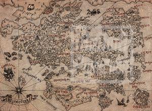 Runeterra Vintage Map