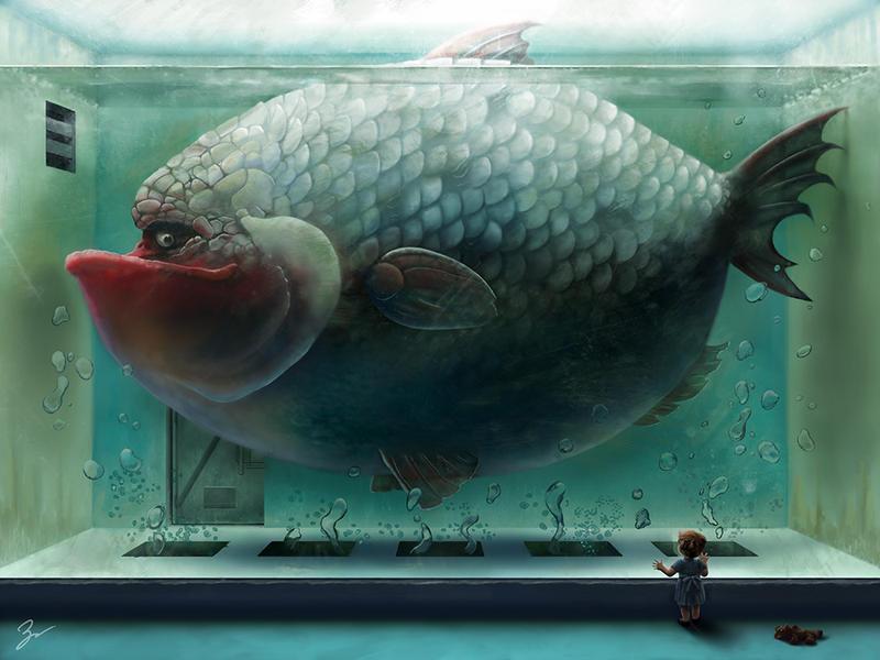 Aquarium fish jobs aquarium by job on deviantart 2017 for Fish tank stinks