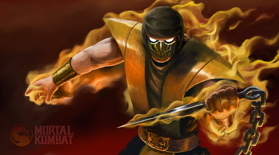 Scorpion - Mortal Kombat by job