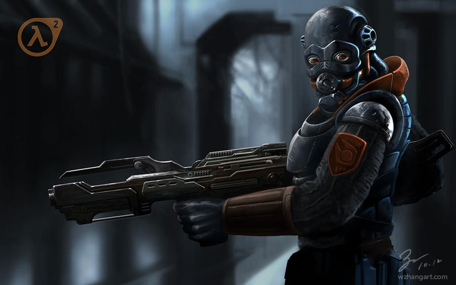 Combine Soldier Half Life 2 By Job On Deviantart