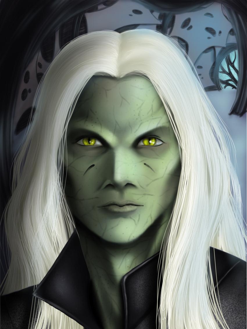 Thor portrait by ThortheWraith