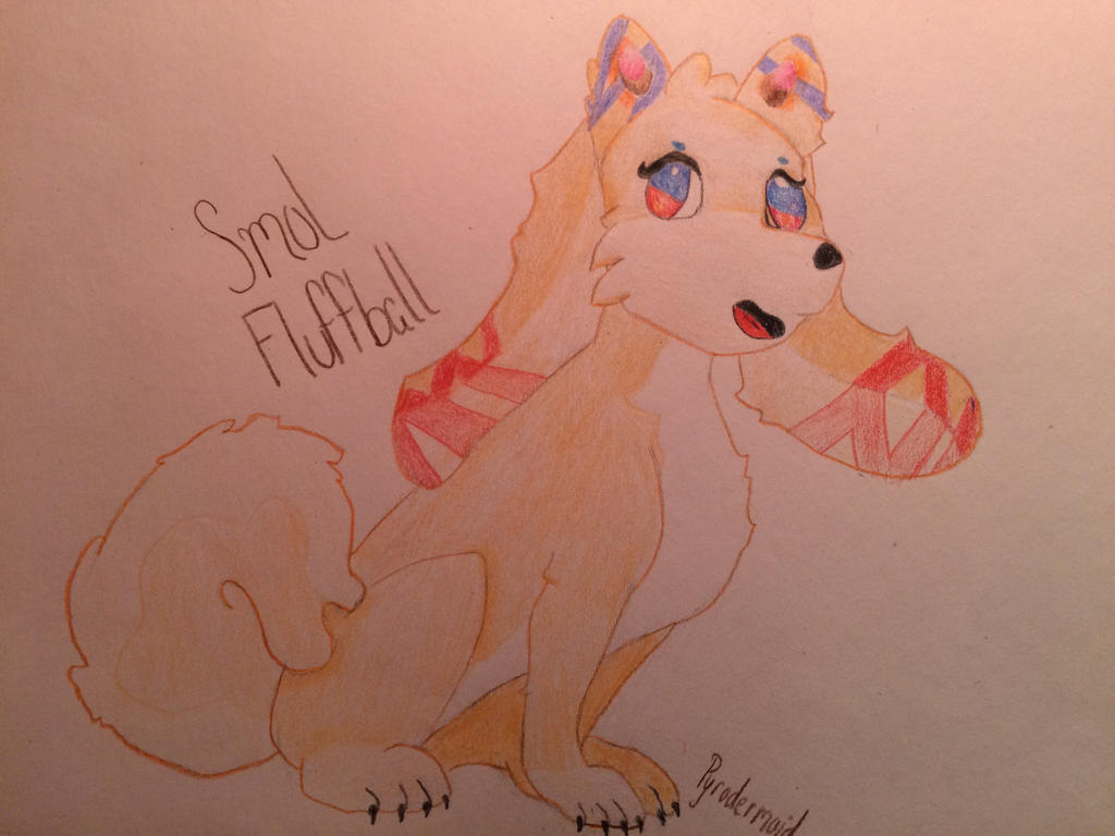 Smol Fluffball  by Pyrodermoid