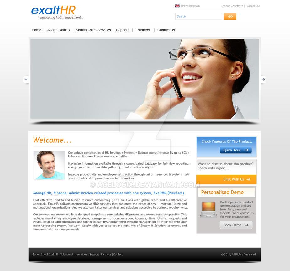 exalter new mockup by acelogix