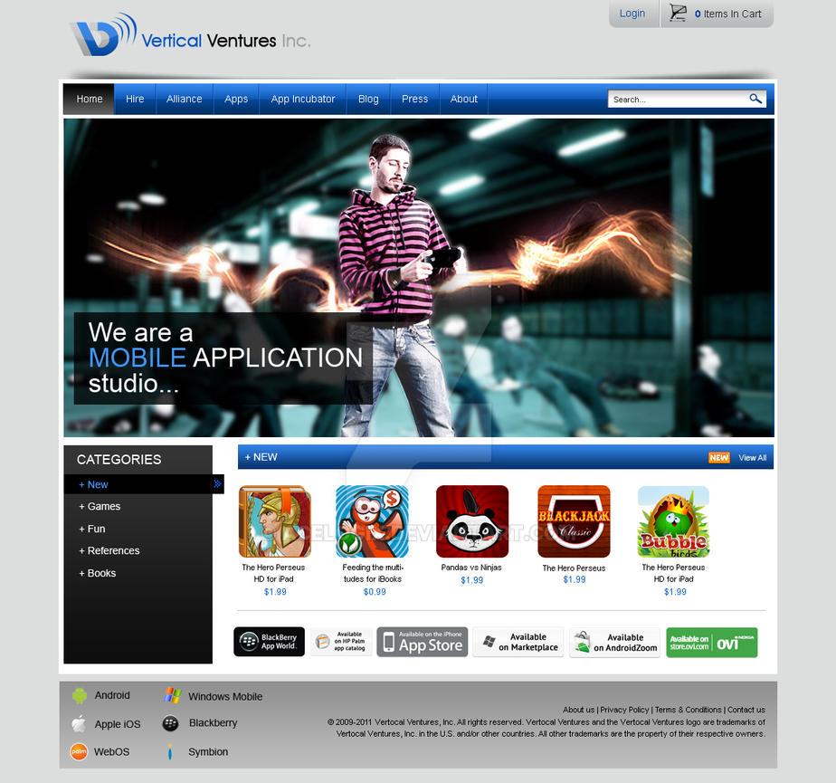 Vertical Ventures mockup 1 by acelogix