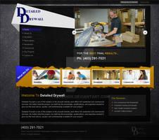 Detailed Drywall website design