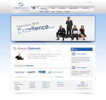 Impact Sales Website Design
