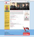 Legion website design