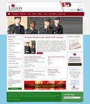 Legion website design 2