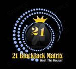 21 blackjack matrix logo