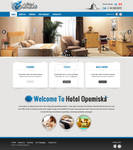Hotel Opemiska website design