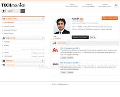 Techmanics website design