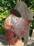 Single Pauldron rear view