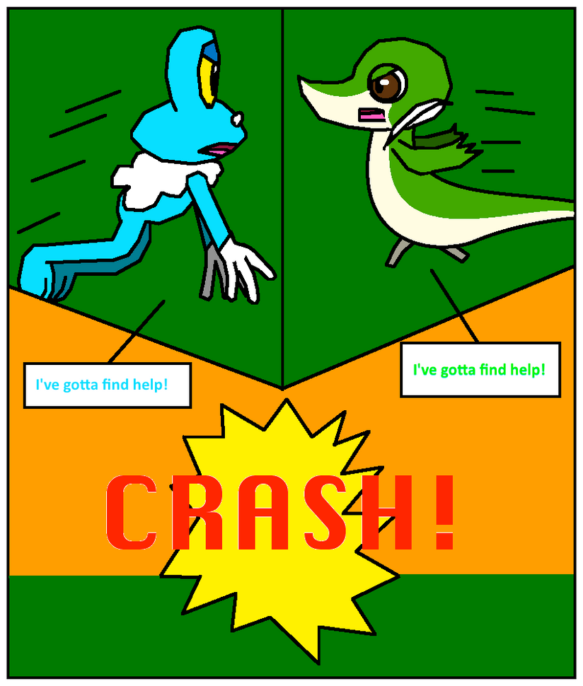 Froakie and Snivy TF Comic - Page 4 by SmartLuxray on DeviantArt