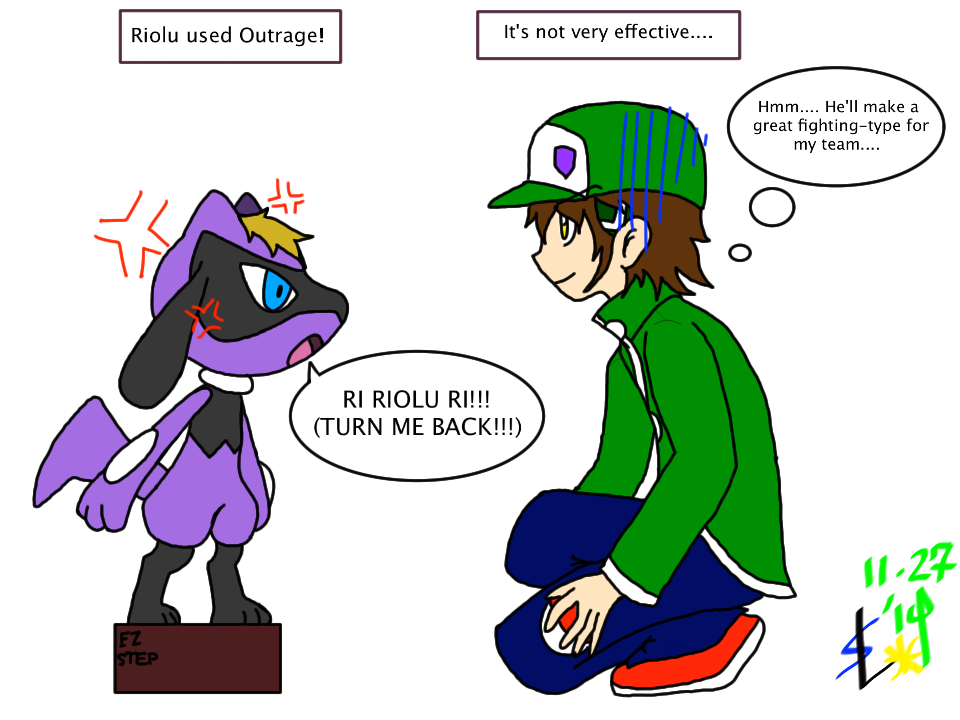 how to get riolu in pokemon y