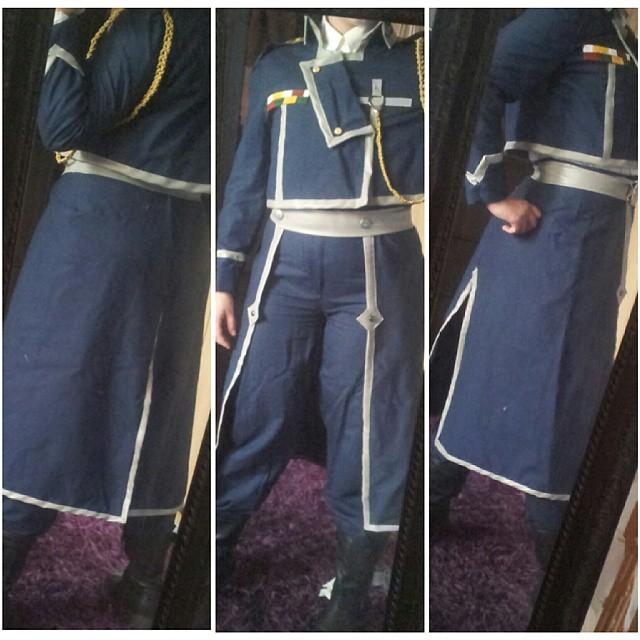 FMAB: Progress Amestris Military Uniform Roy by Magoro