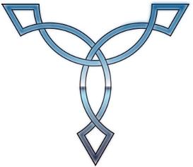 CJs Blue Celtic Knot by cejohnson356