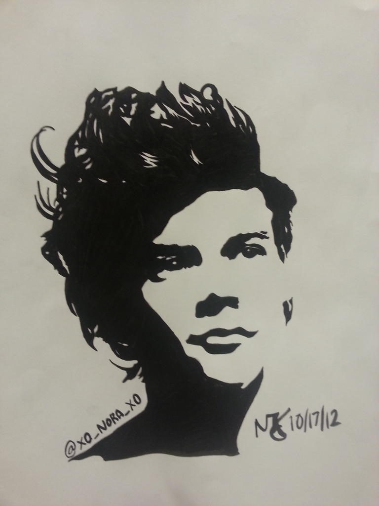 one direction harry styles pop art by khanimegurl999 on. Black Bedroom Furniture Sets. Home Design Ideas