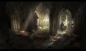 Artstation Challenge - The Secret Place