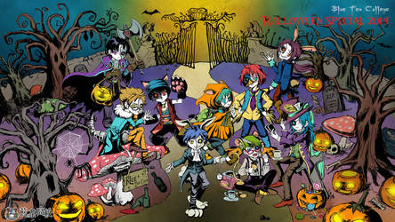 Happy Halloween 2014 by BlueTeaCollege