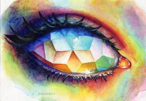 Mosaic eye by umantsiva