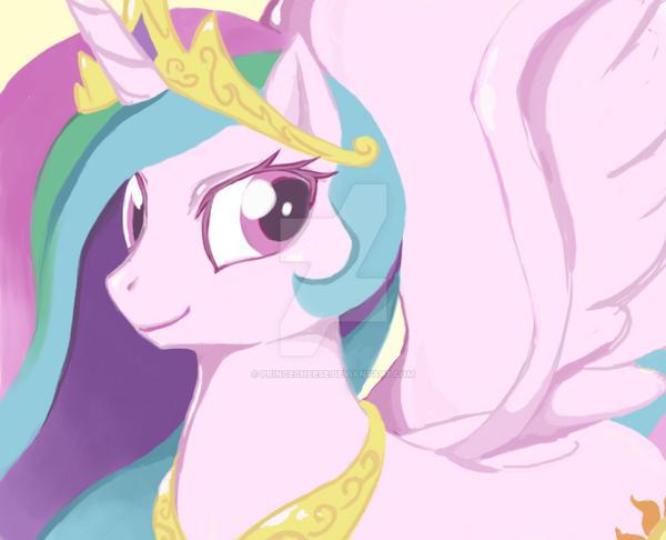Princess Celestia by empressofcheese