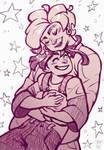Klippity Klopp, Hugs from grandma (Illi 1.) by PrinceCheese