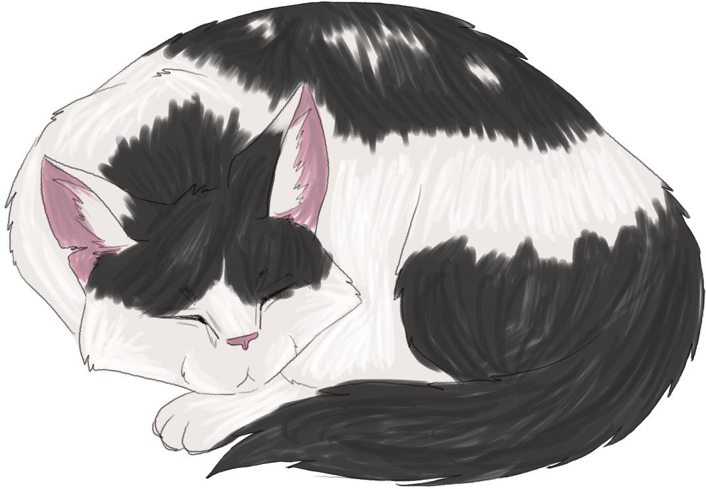 Sleepy Max by saraphynx