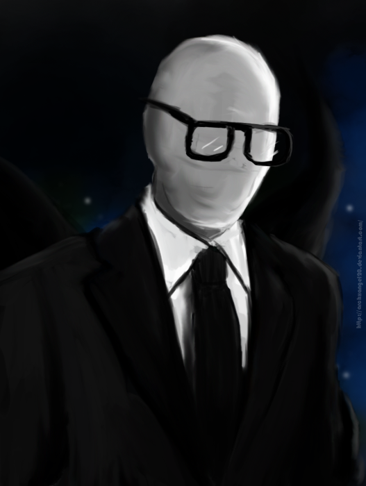 Hipster Slenderman by ArchXAngel20