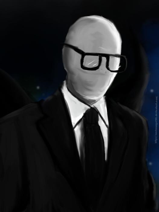 Hipster Slenderman by ArchXAngel20