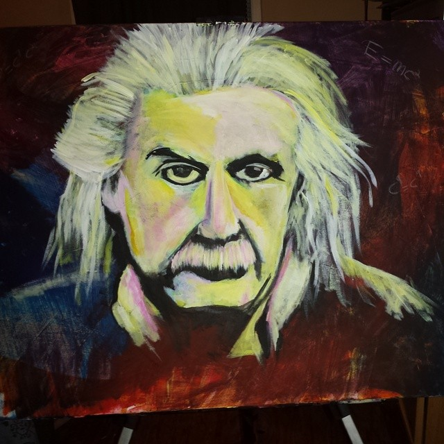 Einstein by ArchXAngel20
