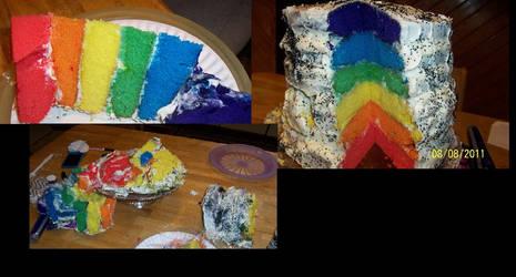 Rainbow Cake Evolution
