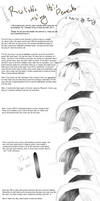 Pencil hair tutorial