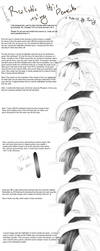 Pencil hair tutorial by Tacoly