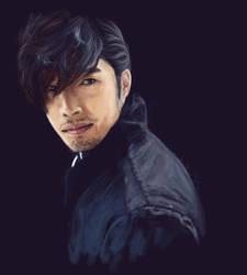 Hyun Bin by Tacoly