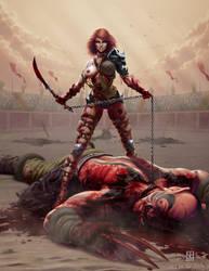 Blood Noon by NigelHendrickson