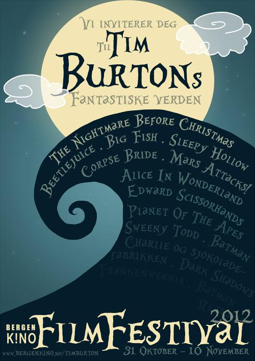 Tim Burton poster by Anolee